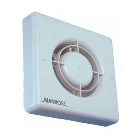 Manrose Xf100s 4 100mm Extractor Fan Non Timer
